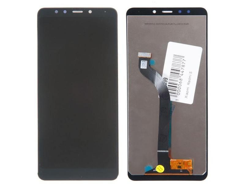 Дисплей RocknParts для Xiaomi Redmi 5 Black 618999 дисплей rocknparts zip для xiaomi redmi note 4x black 573664