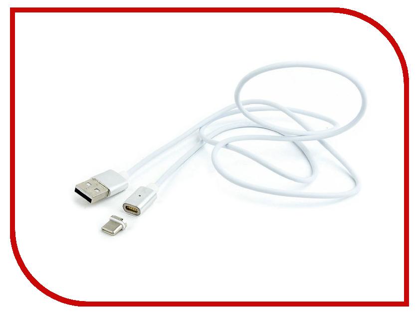 Купить Аксессуар Gembird Cablexpert Magnetic USB 2.0 AM/Type-C 1m CC-USB2-AMUCMM-1M