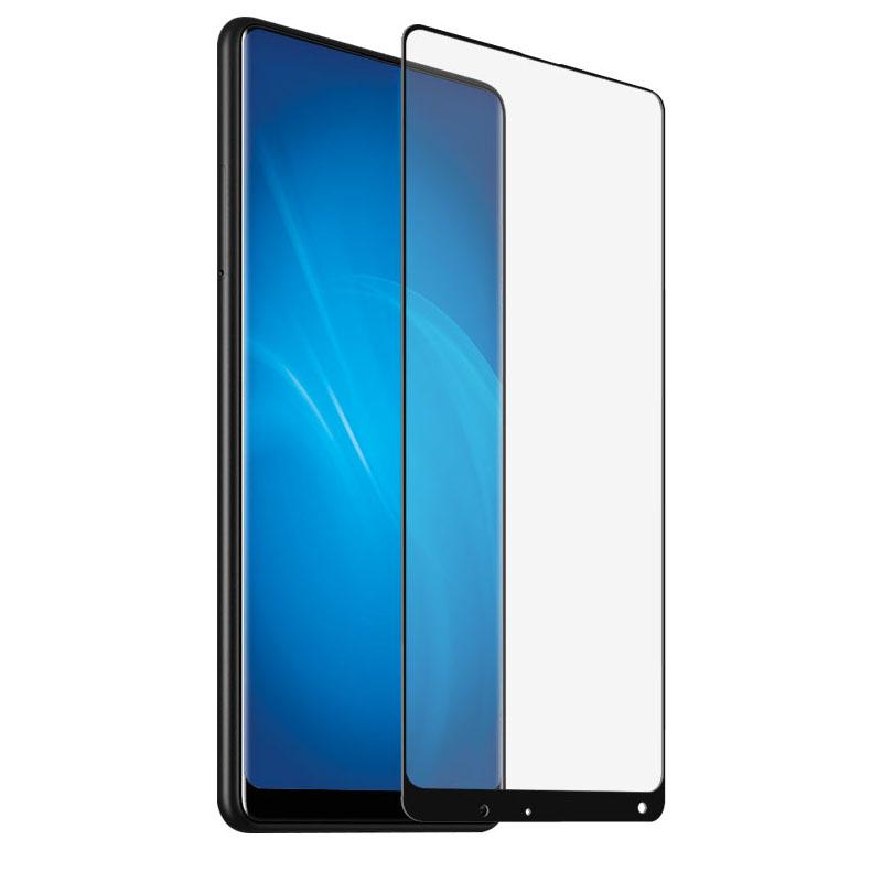 аксессуар защитное стекло optmobilion для honor 10 lite 2 5d white Аксессуар Защитное стекло Optmobilion для Xiaomi Mi Mix 2 2.5D Black