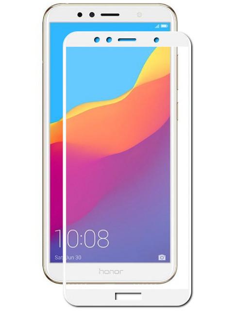 Купить Аксессуар Защитное стекло Optmobilion для Honor 7A Pro 2.5D White