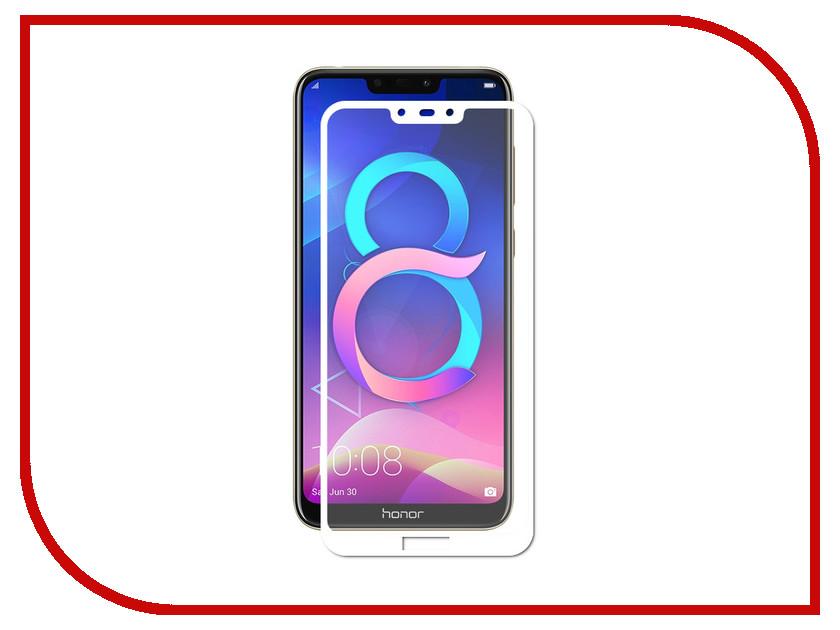 Купить Аксессуар Защитное стекло для Honor 8C Optmobilion 2.5D White