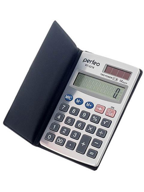 купить калькулятор citizen sdc 554s Калькулятор Perfeo Silver PF_3544