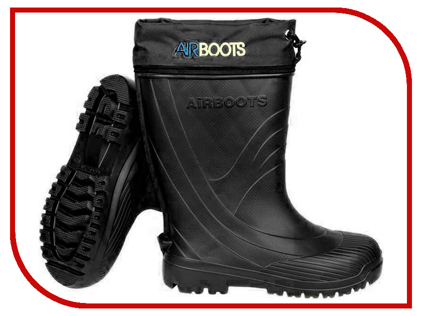 Купить Сапоги Колесник Airboots Black р.44-45 с манжетой