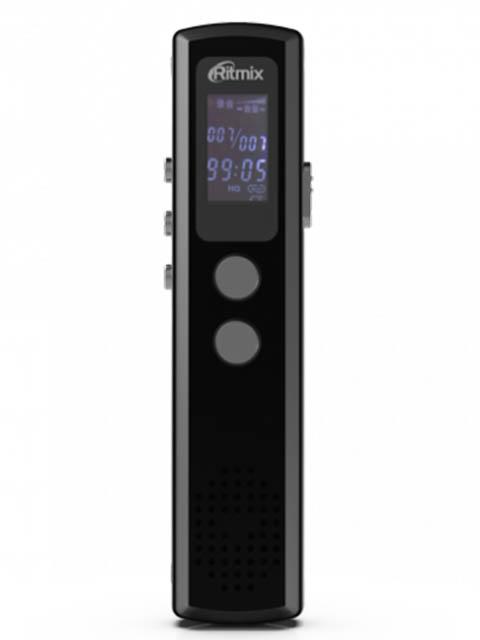 panasonic rr xs410 Диктофон Ritmix RR-120 8Gb Black