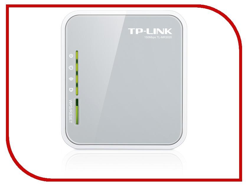 Купить Wi-Fi роутер TP-LINK TL-MR3020