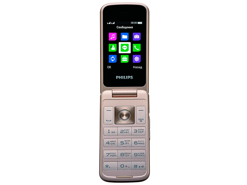 купить телефон philips xenium 5500 Сотовый телефон Philips Xenium E255 Black