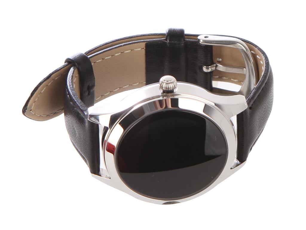 умные часы kingwear kw18 silver Умные часы KingWear KW10 Black