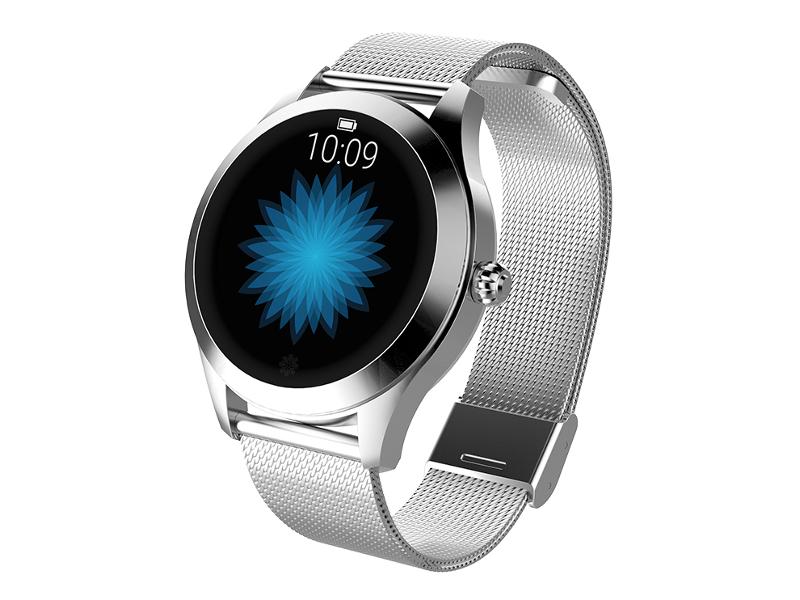 умные часы kingwear kw98 black Умные часы KingWear KW10 Silver