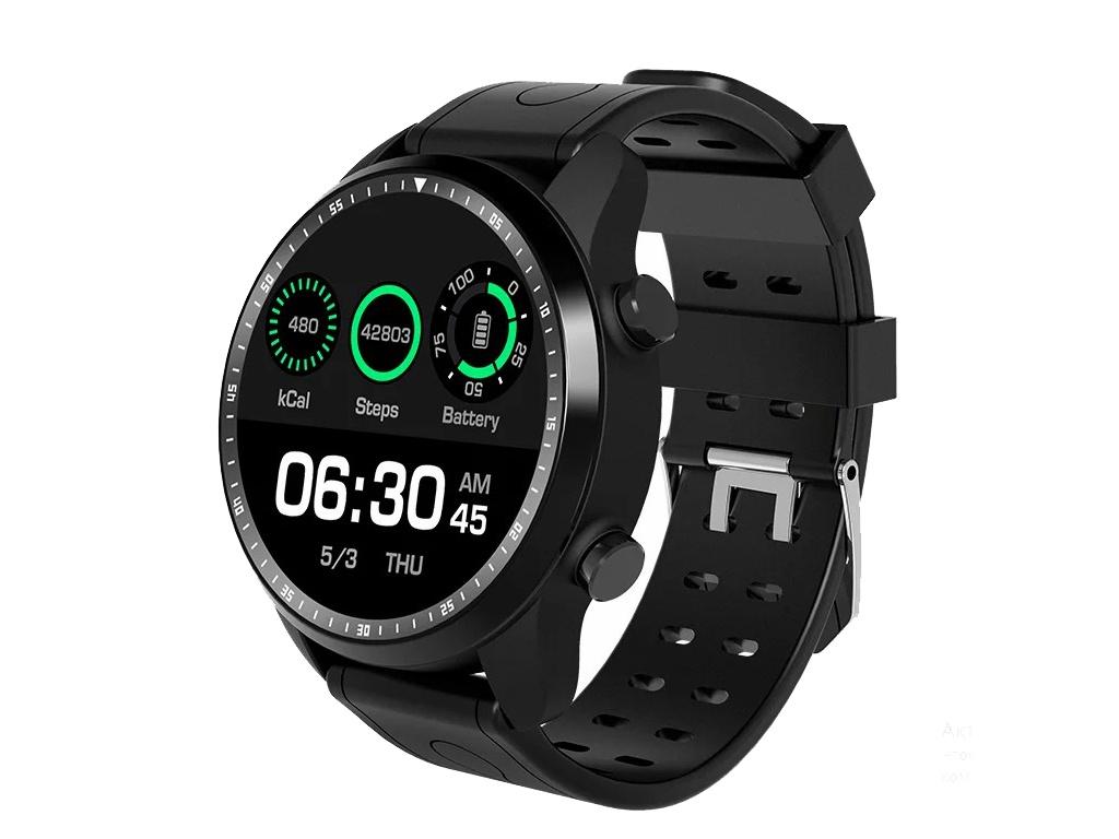 умные часы kingwear kw18 silver Умные часы KingWear KC06 Black
