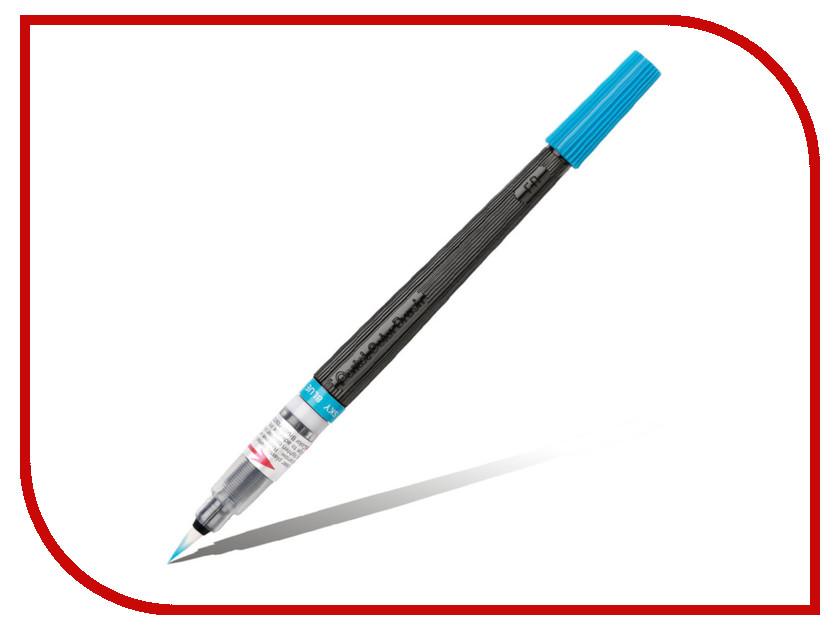 Купить Кисть с краской Pentel Colour Brush Light Blue XGFL-110, Япония