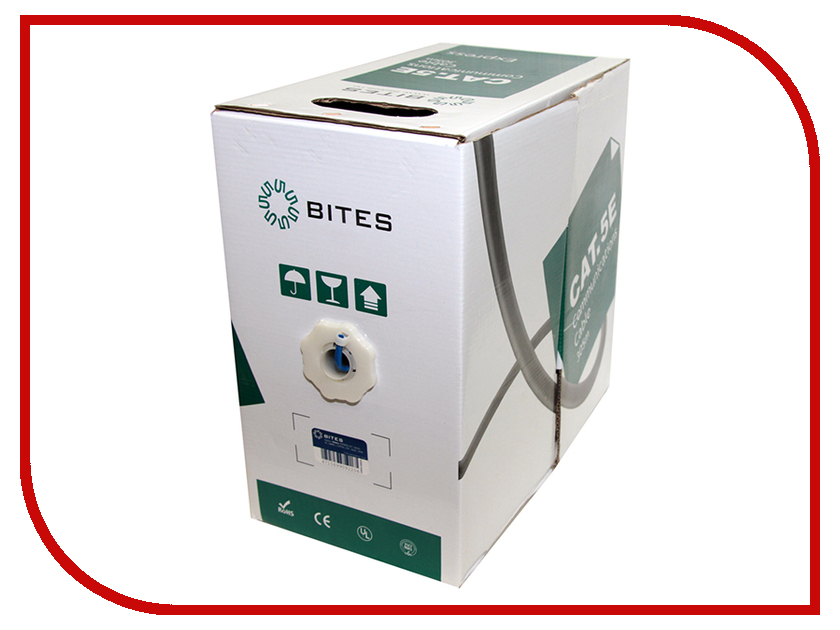 Купить Сетевой кабель 5bites Express FTP / SOLID / 5E / 24AWG / COPPER / PVC / BLUE / 305M FS5525-305B-BL