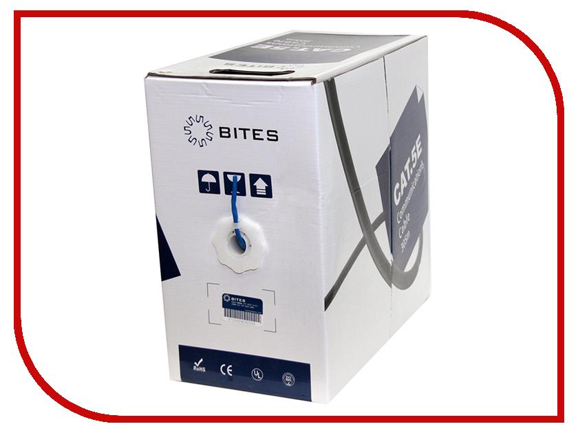 Купить Сетевой кабель 5bites FTP / SOLID / 5E / 24AWG / CCA / BLUE / 305M FS5505-305A-BL
