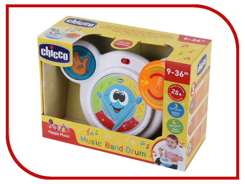Купить Игрушка Chicco Барабан 00006993100000
