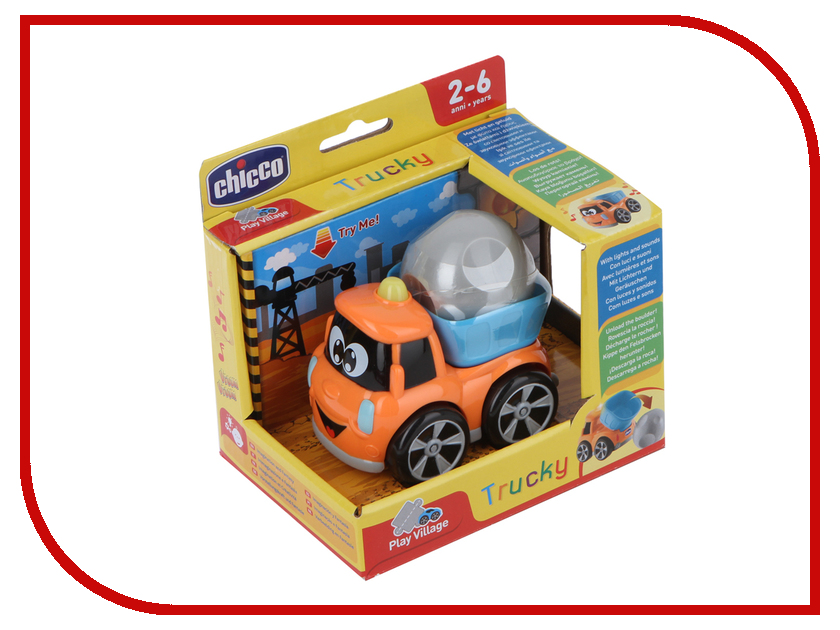 Купить Игрушка Chicco Строитель Trucky 00009355000000