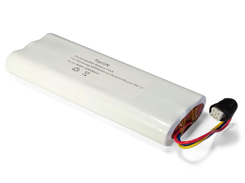 TopON Аккумулятор TOP-SASS для Samsung Tango VC-RA50VB / VC-RA52V VC-RA84V VC-RE70V SSR8930 .14.4V 3000mAh Ni-MH. PN: SAM14.49B CS-SMR840V DJ96