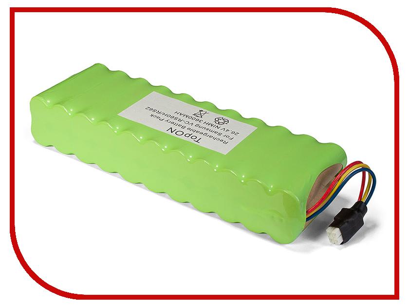 Купить TopON Аккумулятор TOP-SAVC для Samsung VC-RS60 / VC-RS60H / VC-RS62 / VC-RS62H Hauzen Series. 26.4V 3600mAh Ni-MH. PN: DJ96-0079A / EBVB-157 2QTY 1012