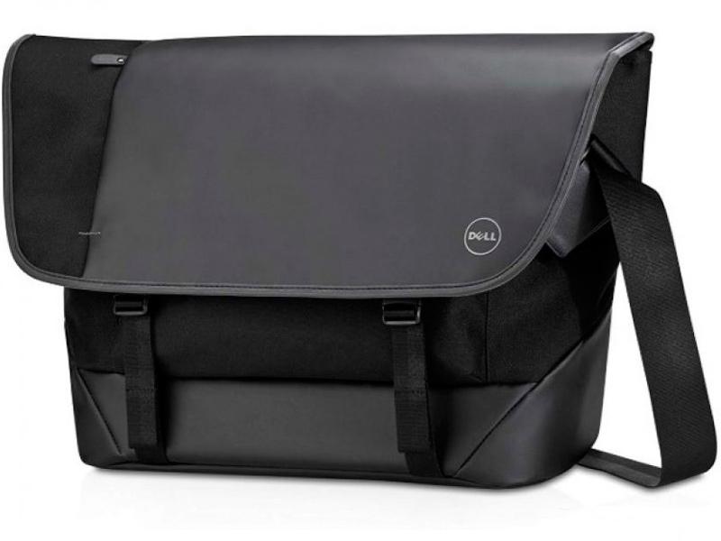 аксессуар чехол 15 inch dell professional 460 bcfj Аксессуар Сумка 15.6 Dell Premier Messenger (M) Black 460-BBNG