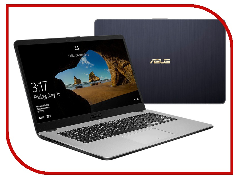 Купить Ноутбук ASUS VivoBook X505ZA-BQ074T Dark Grey 90NB0I11-M11120 (AMD Ryzen 5 2500U 2.0 GHz/8192Mb/256Gb SSD/AMD Radeon Vega 8/Wi-Fi/Bluetooth/Cam/15.6/1920x1080/Windows 10 64-bit)