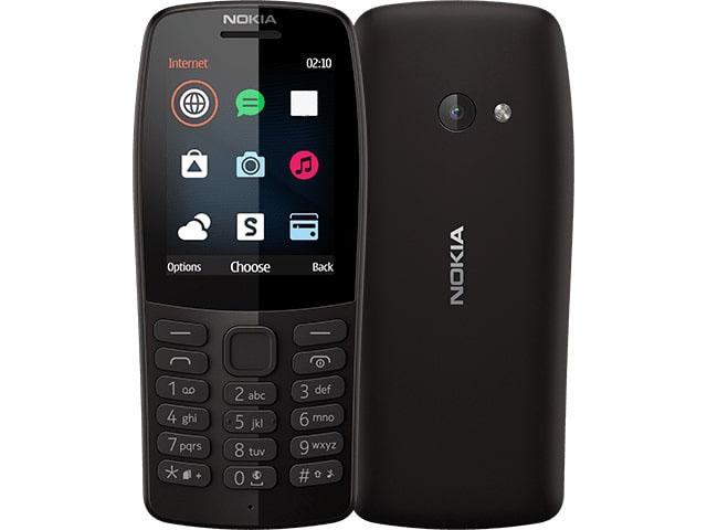 сотовый телефон nokia 3310 2017 ta 1030 yellow Сотовый телефон Nokia 210 (TA-1139) Black