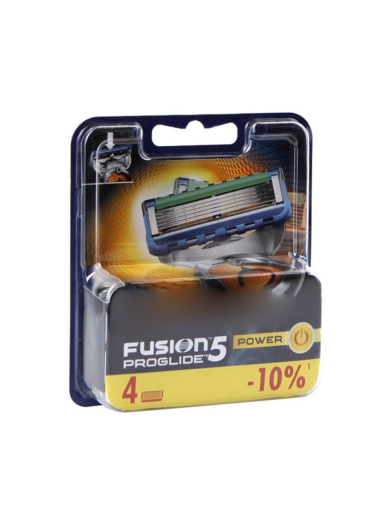 аксессуар сменные кассеты gillette mach3 turbo 8 шт 80226354 Аксессуар Сменные кассеты Gillette Fusion ProGlide Power 4 шт 81469906