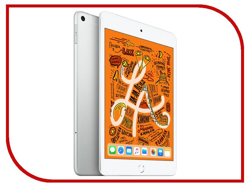 Купить Планшет APPLE iPad mini 64Gb Wi-Fi + Cellular Silver MUX62RU/A