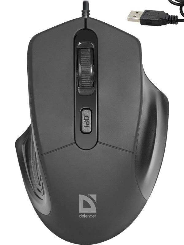 Мышь Defender Datum MB-347 Black 52347