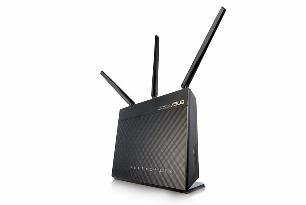 Wi-Fi роутер ASUS RT-AC68U Black Выгодный набор + серт. 200Р!!!