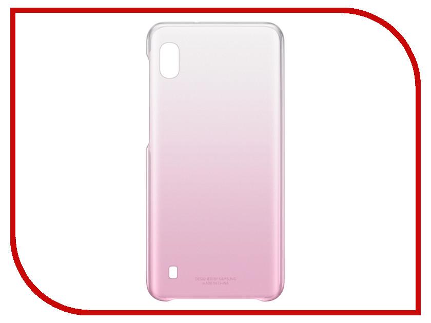 Купить Аксессуар Чехол для Samsung Galaxy A105 Gradation Cover Pink EF-AA105CPEGRU