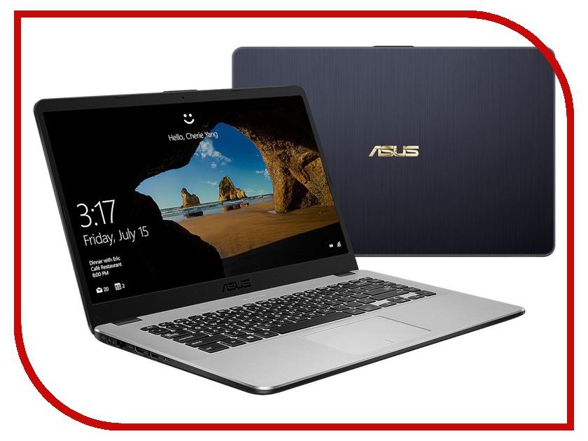 Купить Ноутбук ASUS X505ZA-BQ737T 90NB0I11-M11080 (AMD Ryzen 3 2300U 2.0GHz/6144Mb/128Gb SSD/No ODD/AMD Radeon Vega 6/Wi-Fi/Cam/15.6/1920x1080/Windows 10 64-bit)