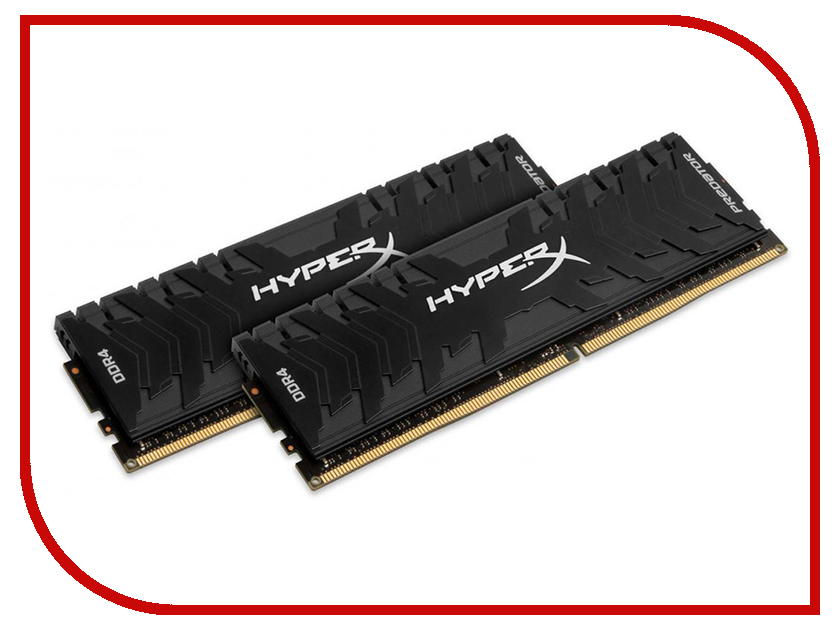 Купить Модуль памяти Kingston HyperX Predator DDR4 DIMM 4000MHz PC4-32000 CL19 - 16Gb KIT (2x8Gb) HX440C19PB3K2/16