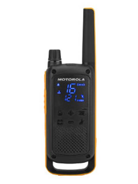Фото - Рация Motorola Talkabout T82 Extreme Quad комплект раций motorola talkabout t82 extreme 16кан до 10км компл 2шт аккум черный оранжевый mt1