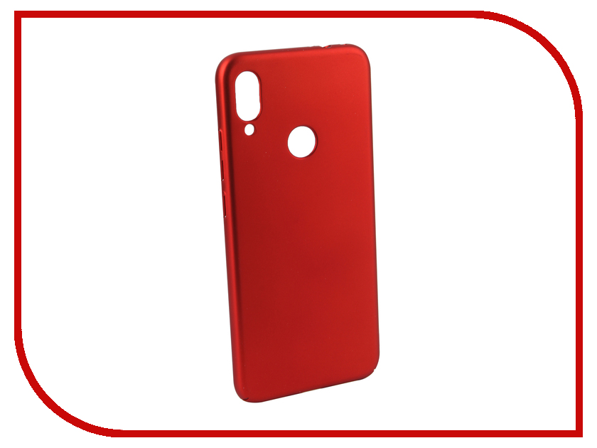 Купить Аксессуар Чехол для Xiaomi Redmi Note 7 Neypo Soft Touch Red ST11361