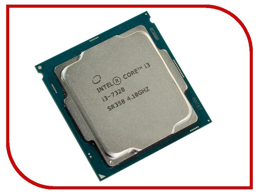 Купить Процессор Intel Core i3-7320 Kaby Lake (4100MHz, LGA1151, L3 4096Kb)