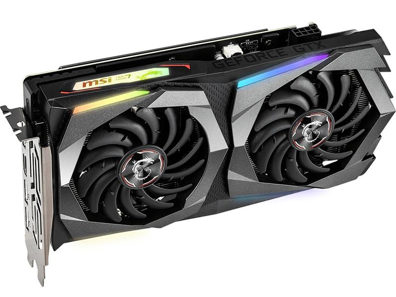цена видеокарты gtx 650 Видеокарта MSI GeForce GTX 1660 1860Mhz PCI-E 3.0 6144Mb 8000Mhz 192 bit 3xDP HDMI GTX 1660 Gaming X 6G