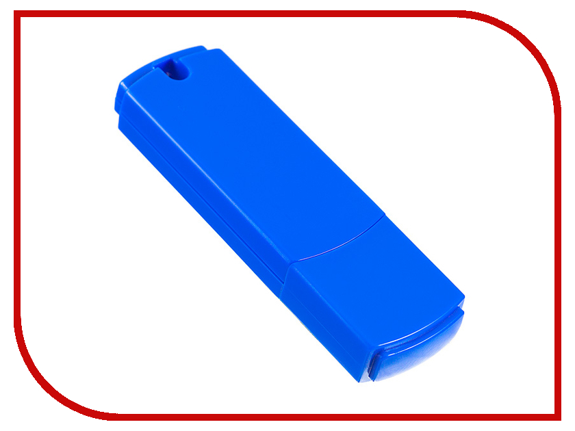 Купить USB Flash Drive 4Gb - Perfeo C05 Blue PF-C05N004