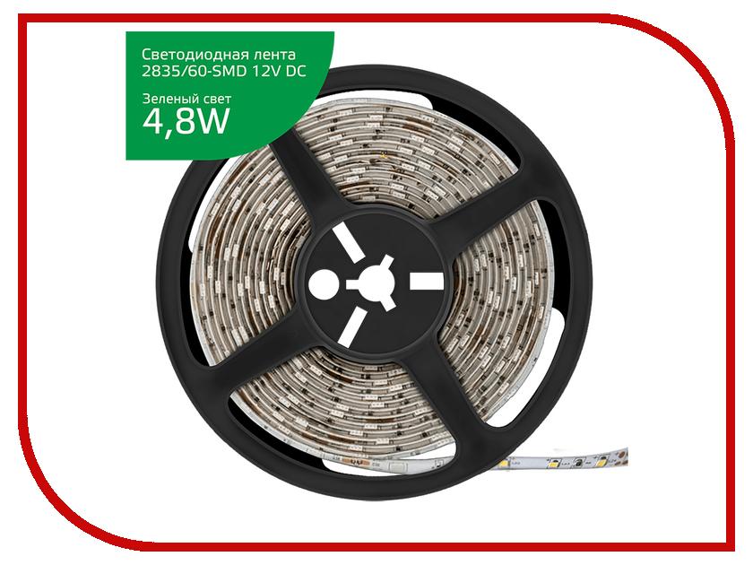 Купить Светодиодная лента Gauss LED Elementary 2835/60-SMD 4.8W 12V DC IP20 Zip Bag 5m Green 355000605