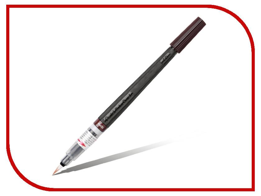 Купить Кисть с краской Pentel Colour Brush Bright Brown XGFL-141, Япония