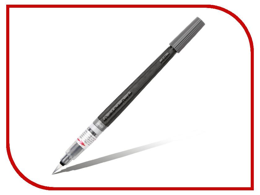 Купить Кисть с краской Pentel Colour Brush Grey XGFL-137, Япония