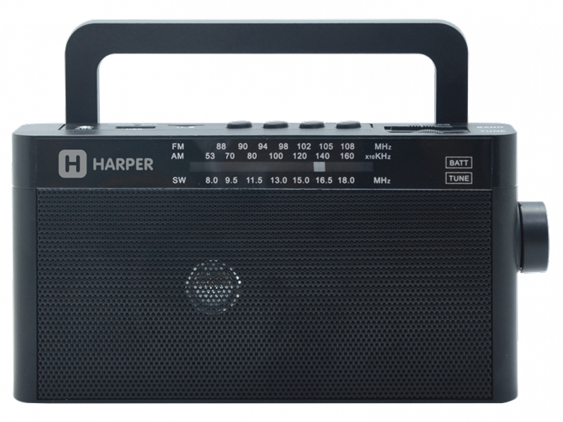 Радиоприемник Harper HDRS-377 Black