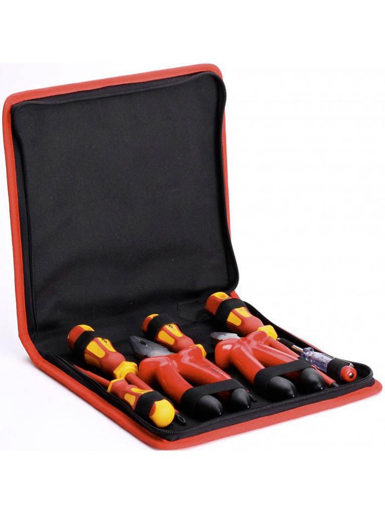 отвертка квт стандарт 67380 Набор инструмента КВТ НИИ-09