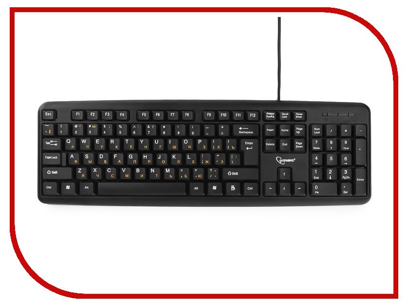 Купить Клавиатура Gembird KB-8320UXL-BL Black