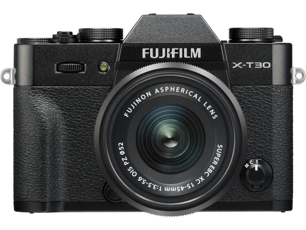 fujifilm s5 pro Фотоаппарат Fujifilm X-T30 kit 15-45mm Black