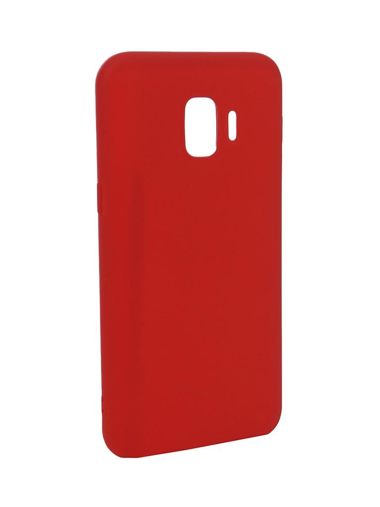 Чехол Zibelino для Samsung Galaxy J2 Core J260F 2018 Soft Matte Red ZSM-SAM-J260F-RED  - купить со скидкой