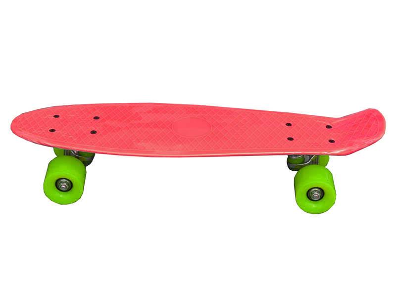 дырокол sax 306 до 20л с линейкой red 50974 Скейт Ateox JX-306 Red