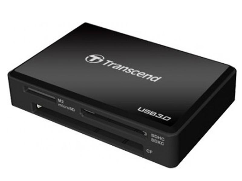 Фото - Карт-ридер Transcend RDF8K USB 3.0 Black TS-RDF8K2 карт ридер transcend rde2 usb 3 2 для cfexpress type b