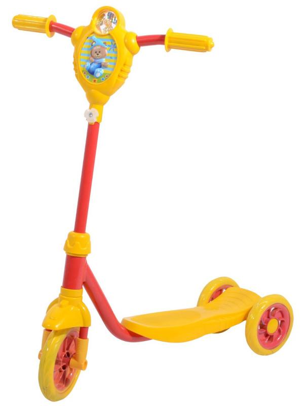 велоперчатки polednik baby р 3 yellow pol baby 3 ylw Самокат Foxx Baby Yellow-Red 115BABY1.YRD7