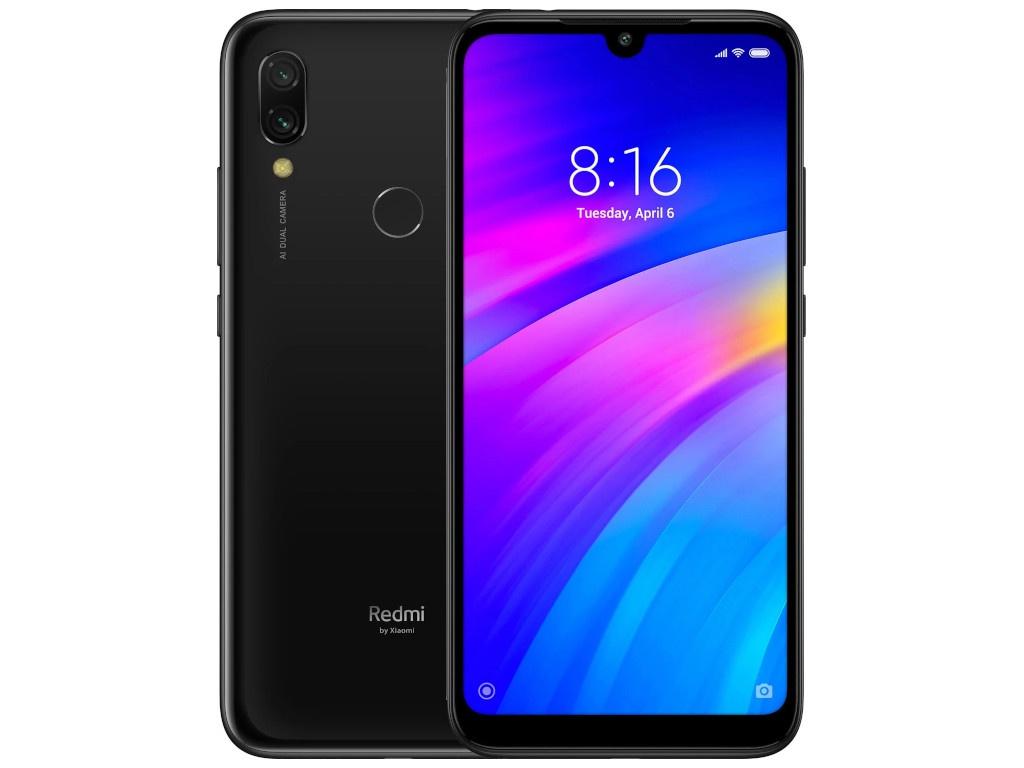 xiaomi mi5s 32gb black Сотовый телефон Xiaomi Redmi 7 3/32GB Black
