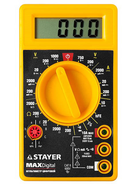 набор отверток stayer master 2513 h2 z01 Мультиметр Stayer Master MaxDigital цифровой 45306