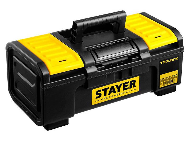 набор отверток stayer professional 25134 h18  z01 Ящик для инструментов Stayer Professional Toolbox-19 38167-19