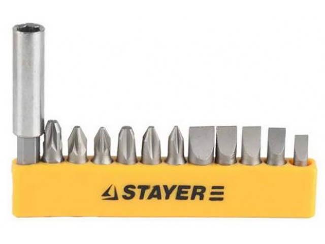 набор инструмента stayer profi 27710 h56 Набор бит Stayer Master 2609-H12_z01